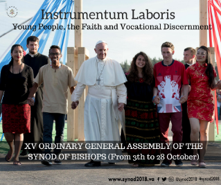Instrumentum Laboris for the Synod 2018. Young People, The Faith and Vocational Discernment